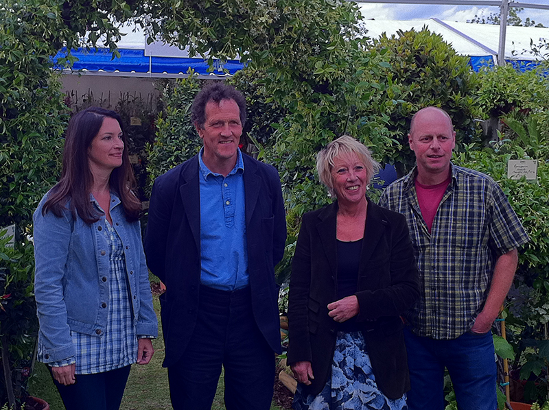 Mike Caine The Gardeners World Presenters.
