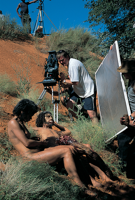 Mike Caine Walking with Cavemen