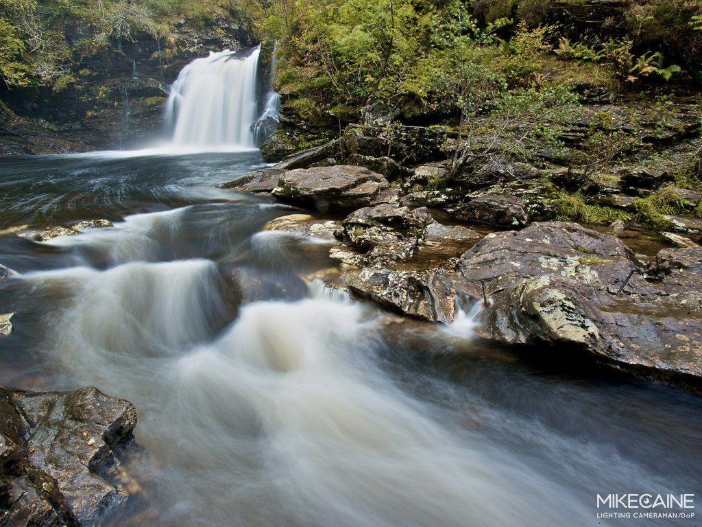 Mike Caine - Stocklandscapes - Stock Photography Falls of Falloch