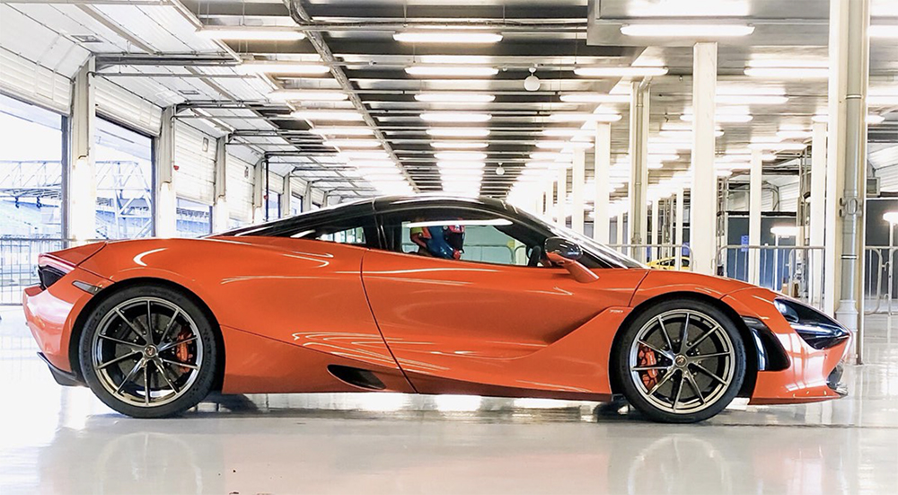 What's not to enjoy about a shoot with McLaren at Silverstone?