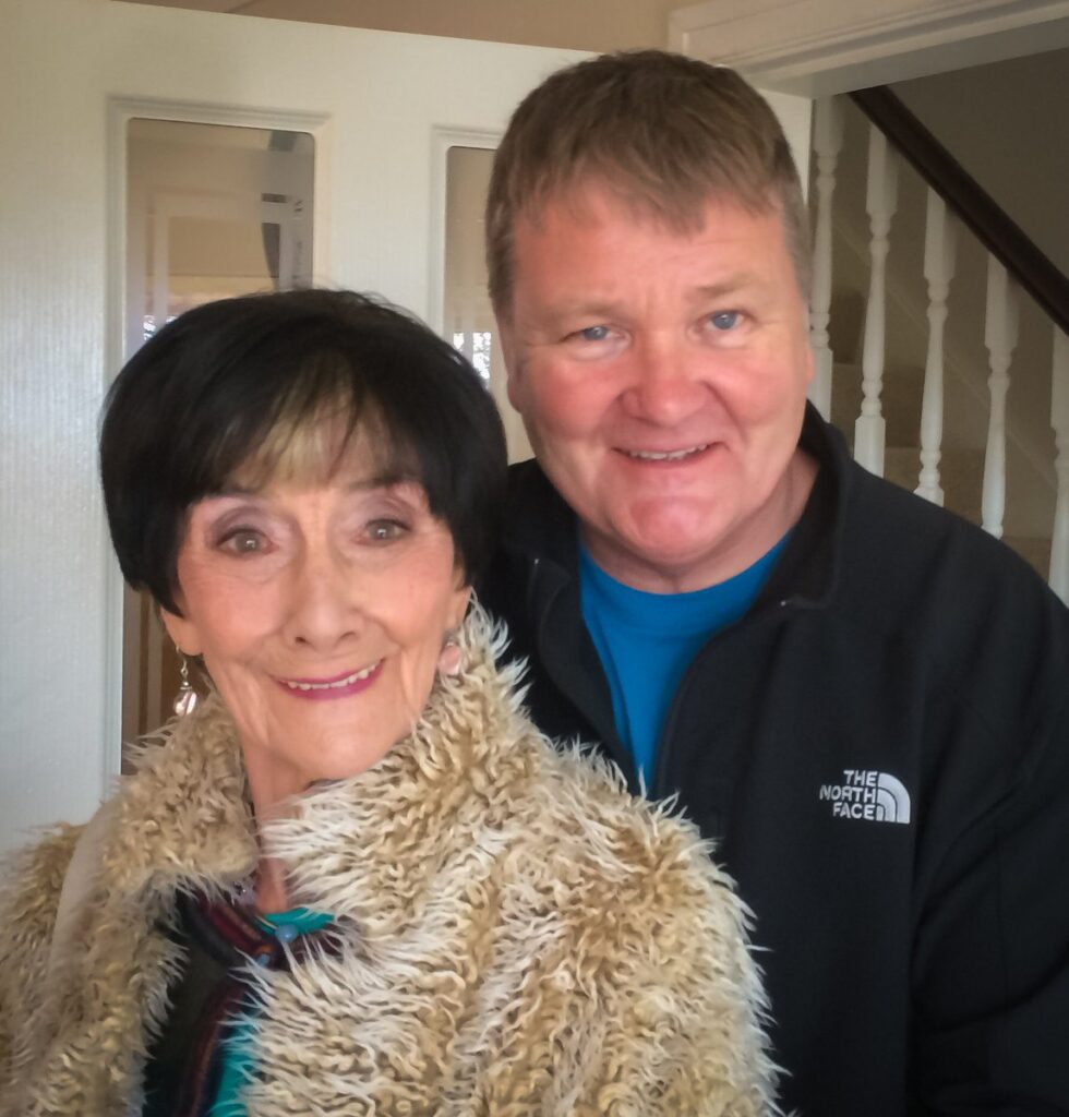 Mike Caine Commercial with Actress June Brown
