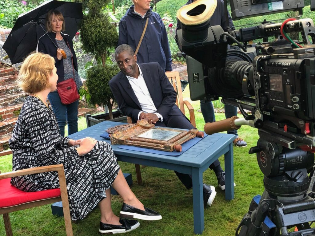 Antiques Road Show at Stonor House