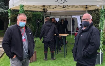 The Aniques Roadshow – filming at Newby House, Yorkshire