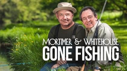 Bob Mortimer, Paul Whitehouse and Gone Fishing team