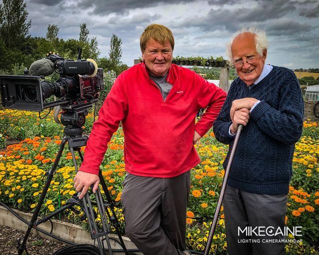 Flower enthusiast Peter Seabrook