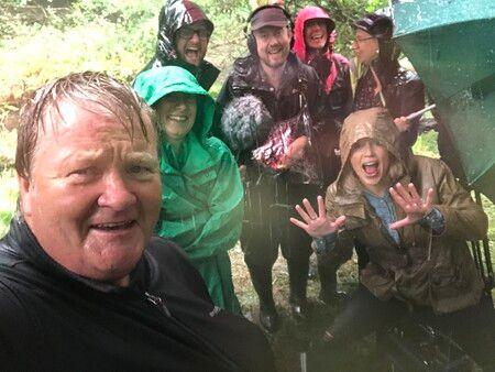 A rain-soaked shoot – Countryfile
